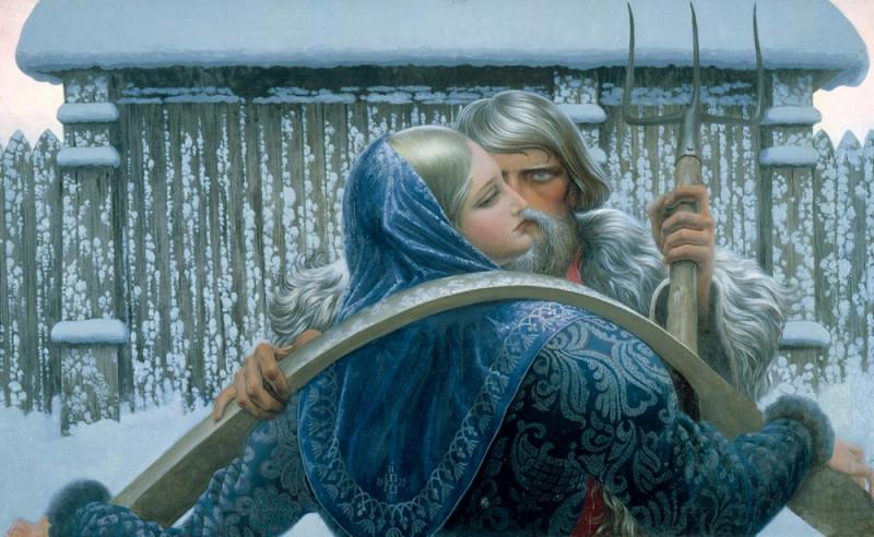 Константин Васильев «Нечаянная встреча»