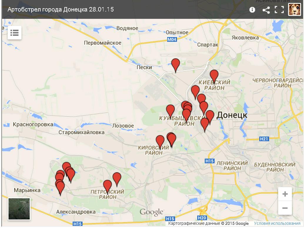 Карта_Обстрелов_10.01.15