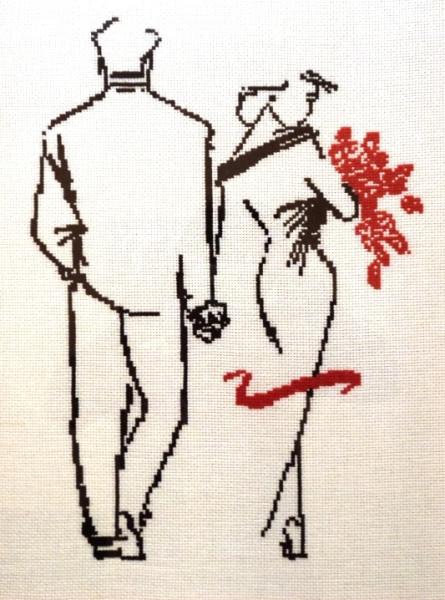 Влюбленная пара скачать схему