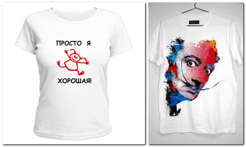 Как рисовать на футболке в домашних условиях
