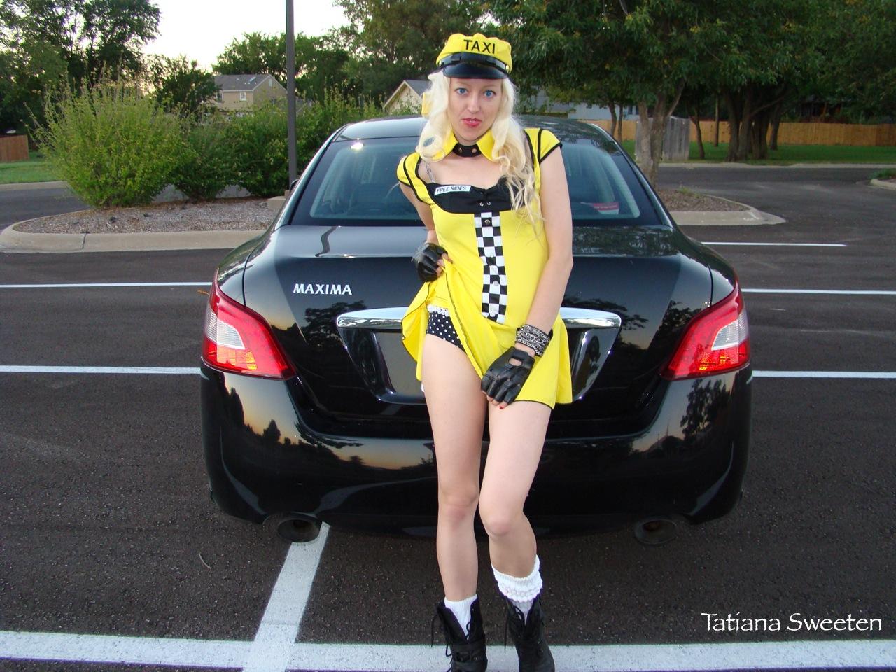Сосущие телки в такси, После вечера с подружками тёлочка заказывает такси 12 фотография