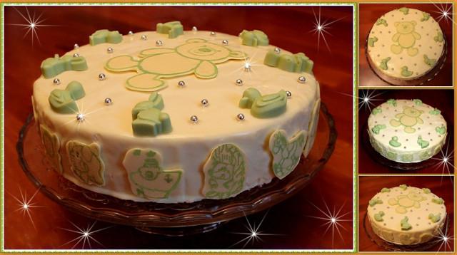 Торт из ирисок и кукурузных палочек фото 5
