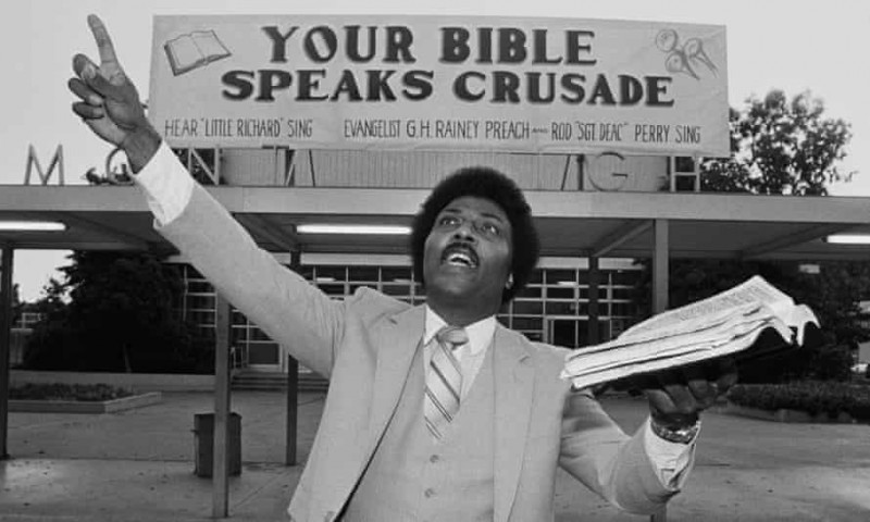 "Your Bible speaks crusade - hear ""Little Richard""sing"