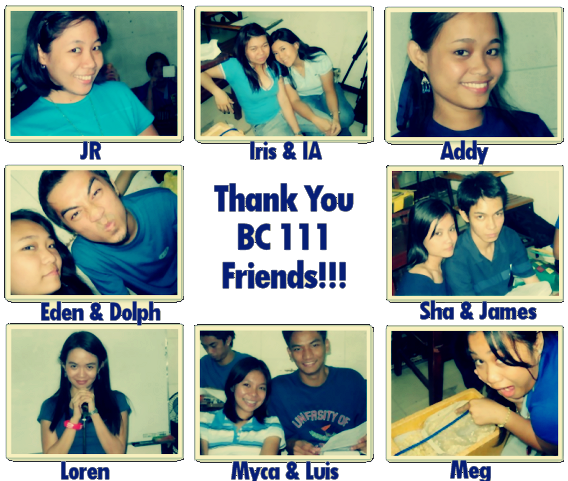 BC 111 Friends