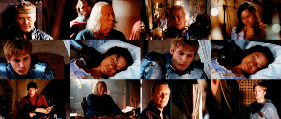 merlin 02x12 the fires of idirsholas woodycakes