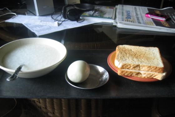 Breakfast of Non-Champions