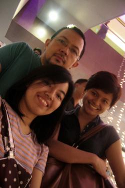 At SM Mega Mall