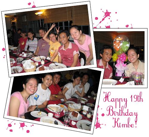 happy 19th birthday kimbe