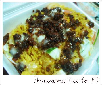 Shawarma Rice For PB