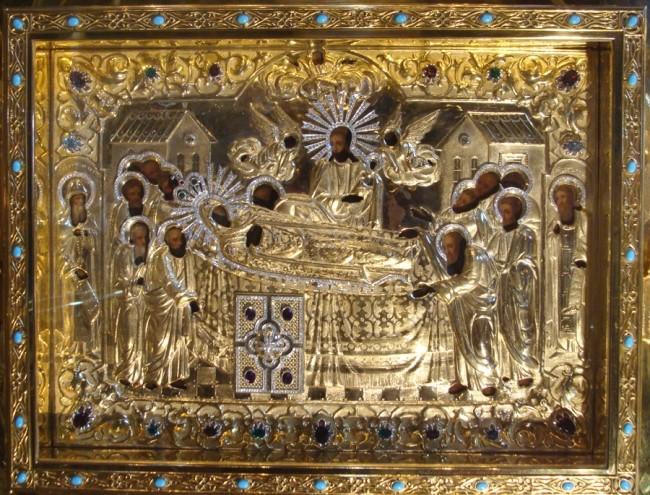The Kiev-Pechersk Icon Of The Mother Of God Киево Печерская Икона L/'icône