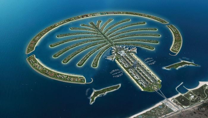 остров пальма в оаэ
