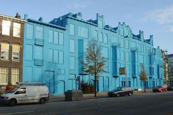 Замороженный дом в Роттердаме