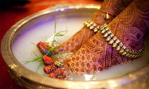 Индийские свадебные украшения своими руками