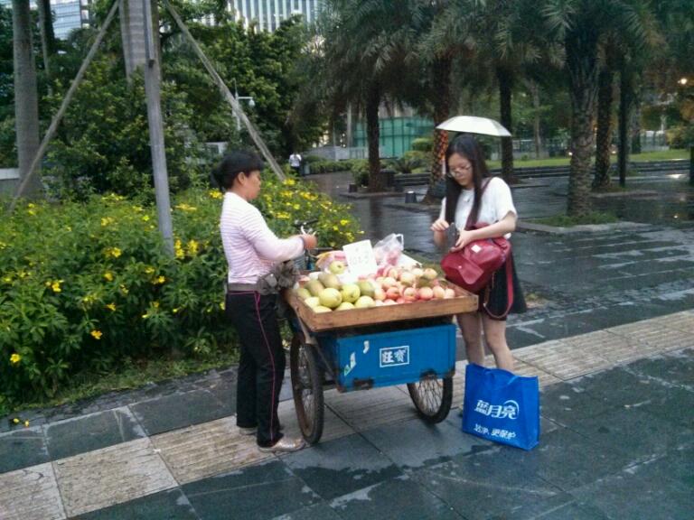 Уличная еда в Китае