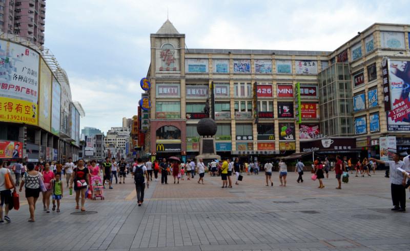 Пешеходная улица Гуанчжоу