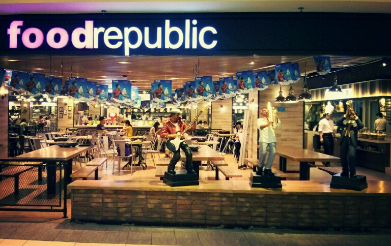 Food Republic в Гуанчжоу