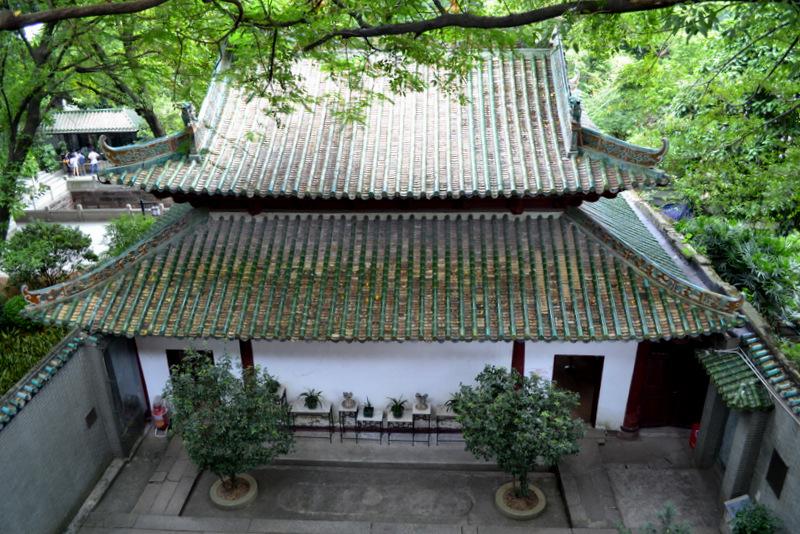 Достопримечательности Гуанчжоу. Храм Пяти Духов