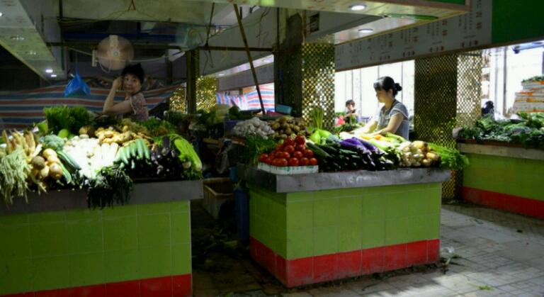 Рынки Гуанчжоу. Продуктовый рынок