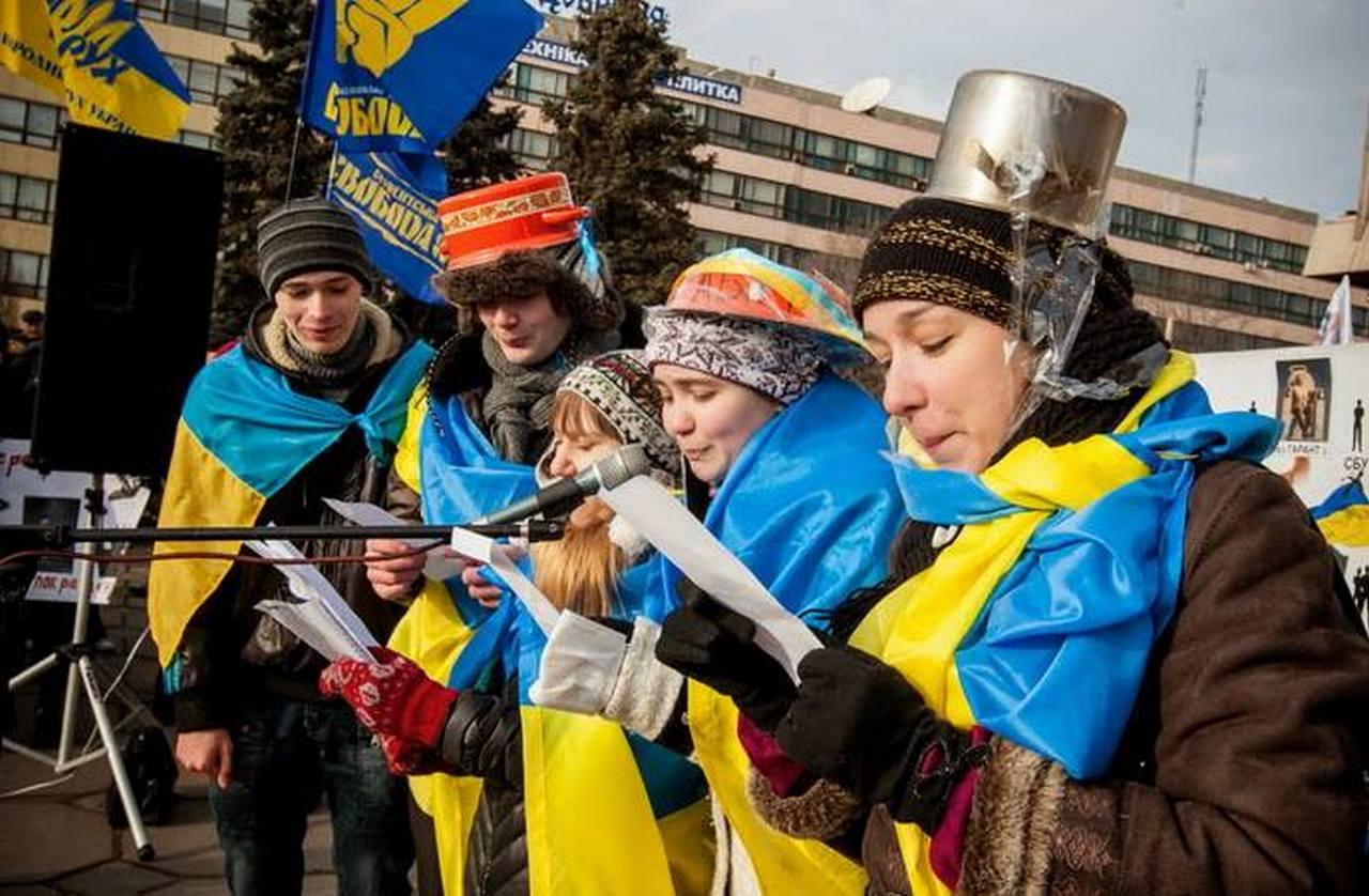тебе украинцы с кастрюлями на голове фото форм оттенков