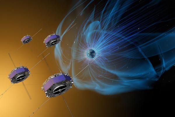 Странный взрыв в магнитосфере Земли. (10 Ноября 2018)