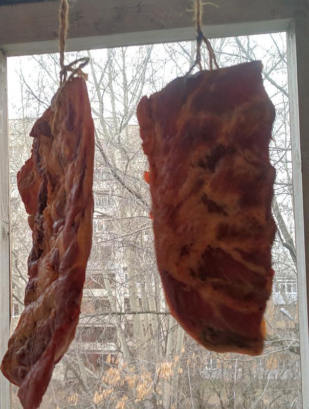 Проветриваем мясо.