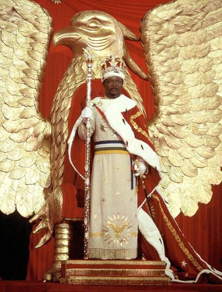 Bokassa-coronation