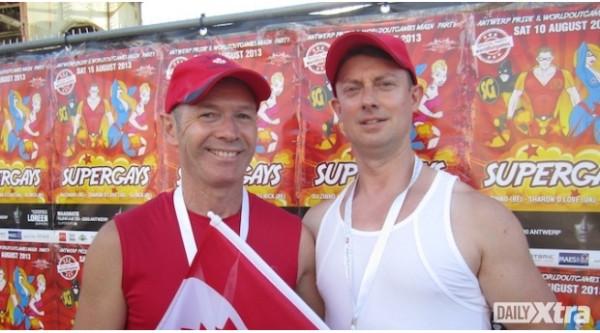 Mark and Craig at OutGames