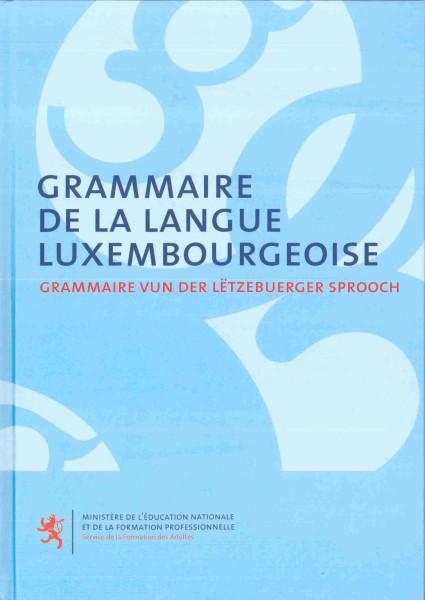 GRAMMAIRE DE LA LANG LUX