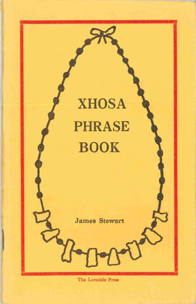 XHOSA PHRASE BOOK OLD