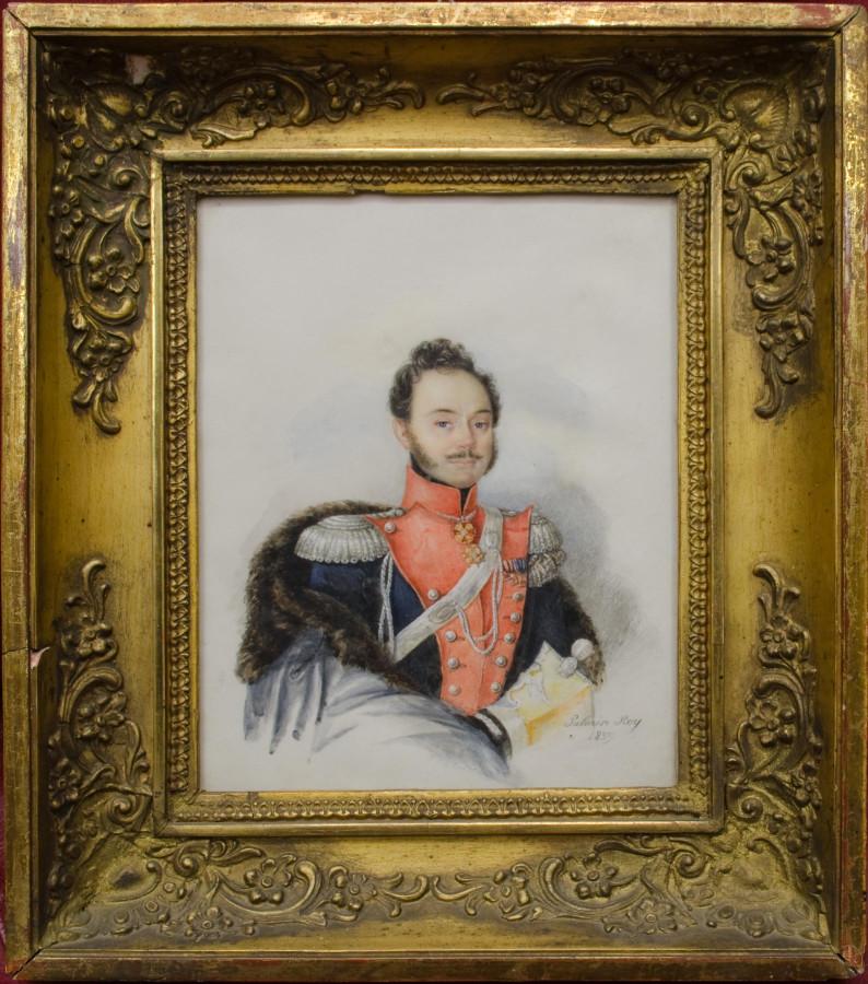 Palmire Roy. Портрет полковника. 1839
