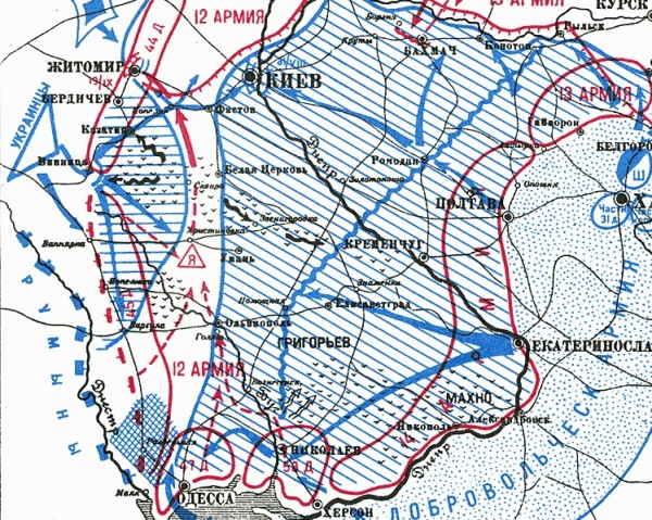 ЮГ 12А на Житомир