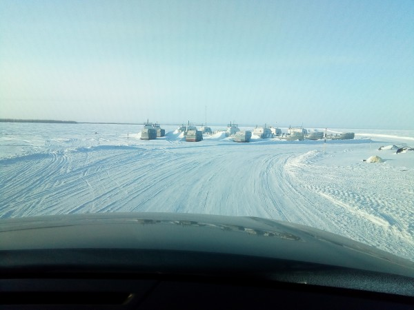 замёрзший флот
