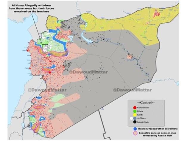 Сирия фронты
