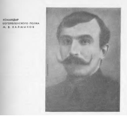 Калмыков - богоявленский отряд