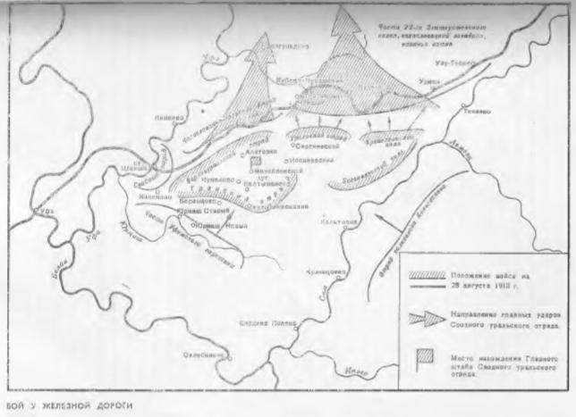 карта - штурм железной дороги