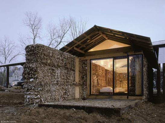 Дома из нетрадиционных строительных материалов