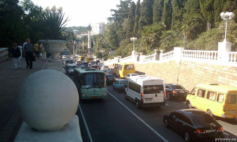 Новая дорога в Сочи, через город и сквозь горы