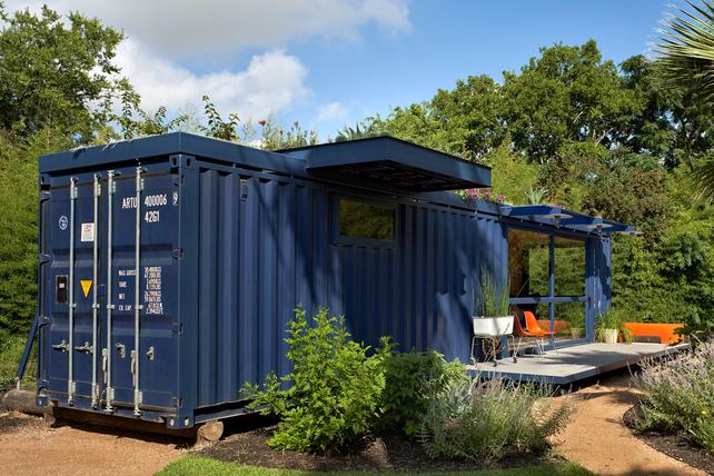 дом из контейнера для морских перевозок