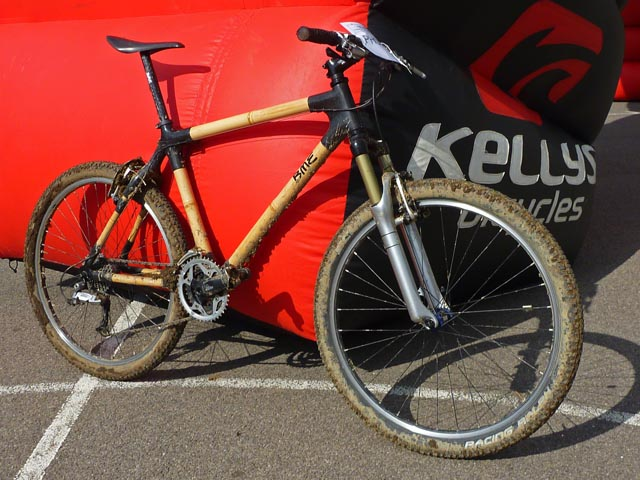 бамбуковый велосипед