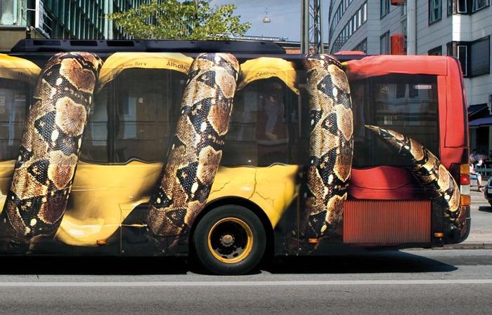 Реклама зоопарка в Копенгагене