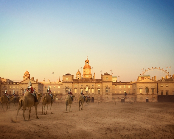 Camel Guards Parade