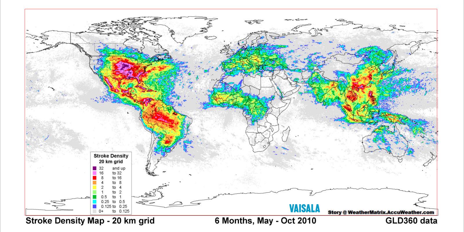 Stroke Density Map
