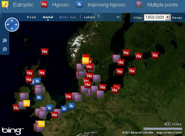 Эвтрофикация в Балтийском море