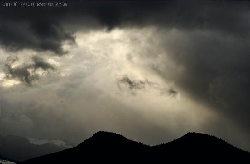 Карпаты, вид на Черногорский хребет