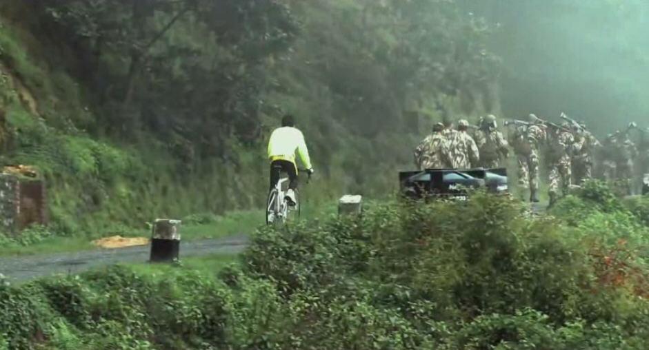 Кореец на велосипеде вокруг света