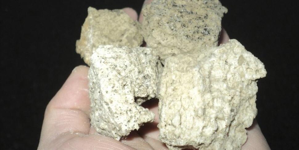 Куски вулканической пемзы