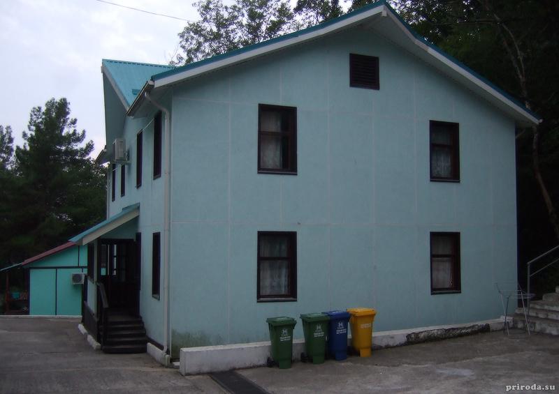 Домики, в которых жили участники форума ЭКА-МИР
