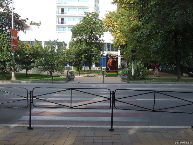 Бывший пешеходный переход на Курортном проспекте