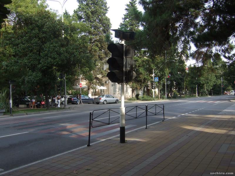 Пешеходный переход на Курортном