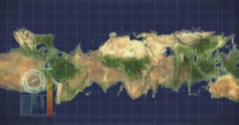 Экваториальный материк, образовавшийся в результате замедления вращения Земли